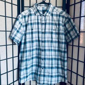 Kuhl Styk glacier short sleeve button up shirt XL